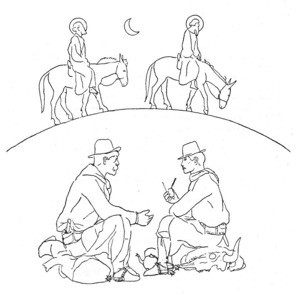 Don Segundo Sombra and another gaucho