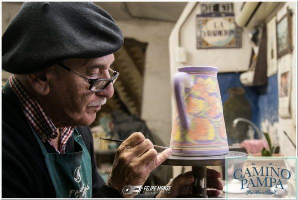 Tour Cultura Gauchos ceramista